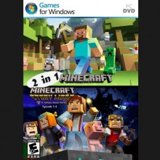 2 in 1 Minecraft PCDVD