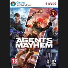Agents of Mayhem PC 2DVD9