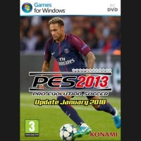 PES 2013 Update January 2018 PC 1DVD