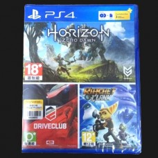 Horizon Zero Dawn, Drive Club, Ratchet & Clank , PSN + 3bulan